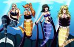 Mermaids in trouble