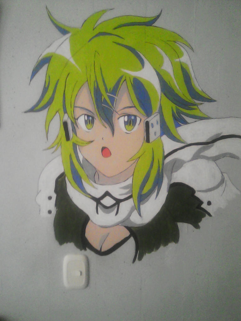 Sinon wall by darthplegias