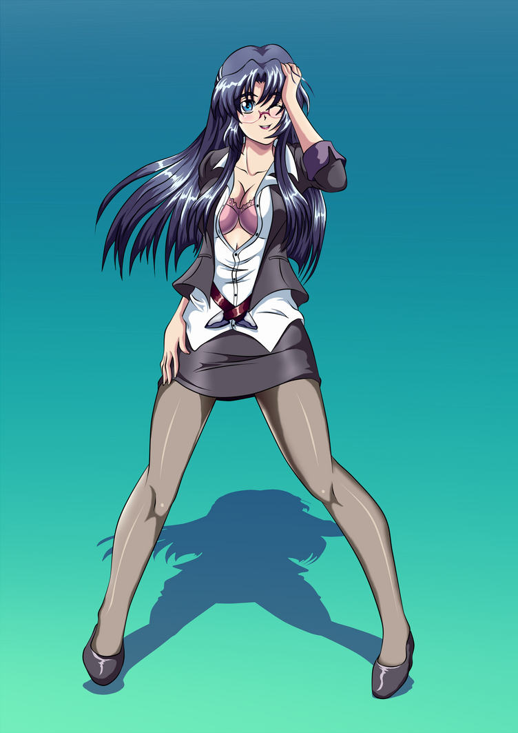 Teacher Ryoko Sexy by darthplegias