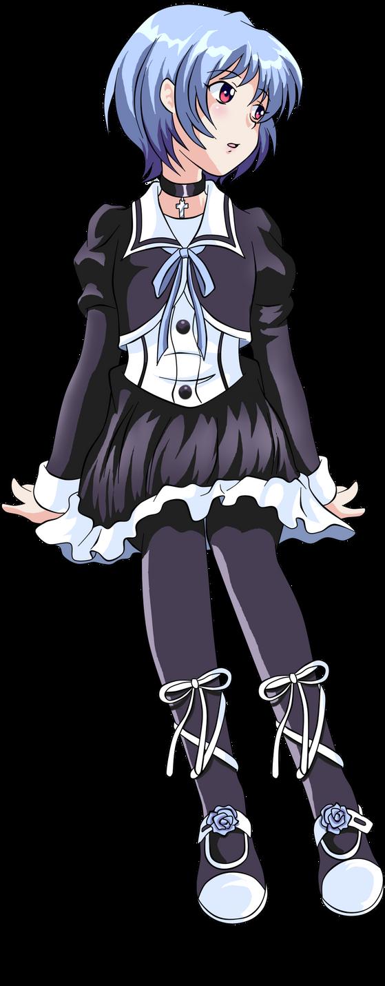 Chibi Rei by darthplegias