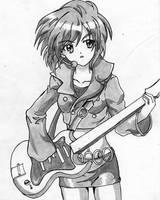 Yuki sketch by darthplegias