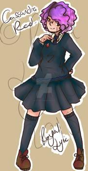 Cassandra Red - Harry Potter OC