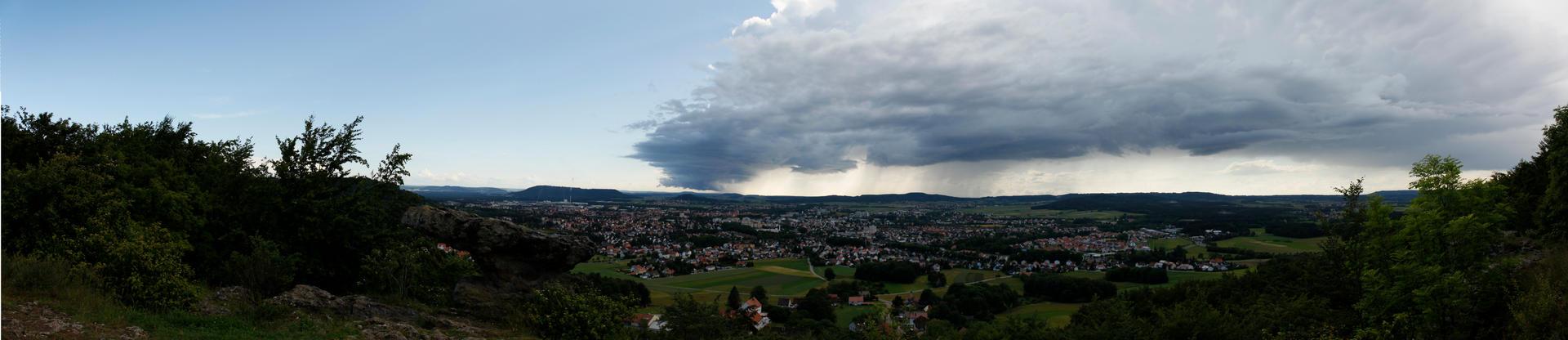 Bad weather at Neumarkt Opf by Bastlwastl84