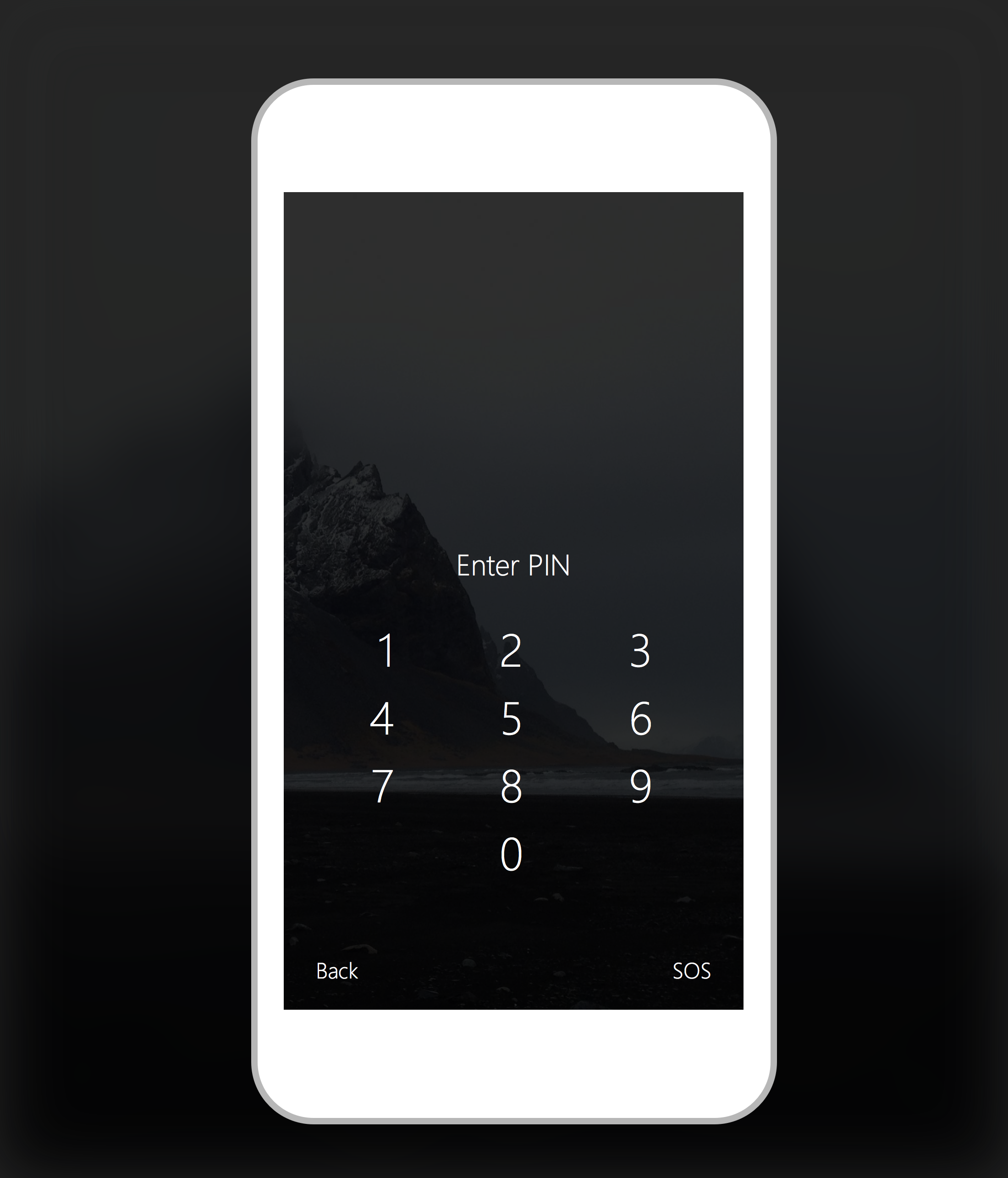 Mobile App Home Screen Redesign: Windows 10 Mobile: PIN Entry Redesign By Willza3 On DeviantArt