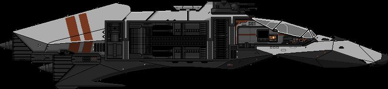 Starbound   DSL Spaceship by DShakaL
