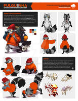 Reference Sheet Commission -- Pulguiinha