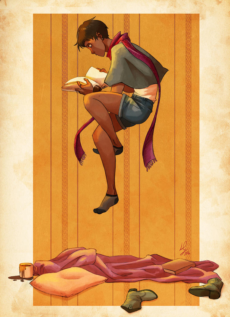 Reading by LinaDolz