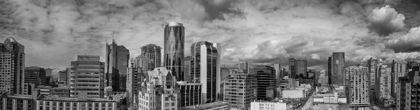 Vancouver Cityscape by DavHed