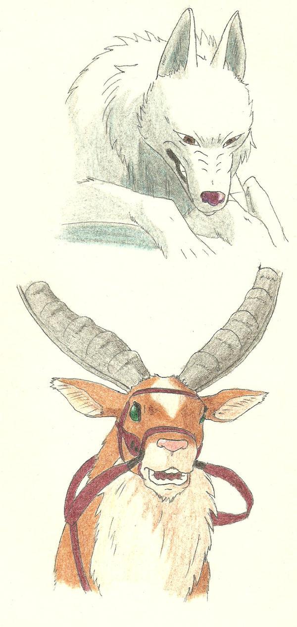 Yakul and Moro by SilvanaTheVerdant on DeviantArt