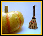 Halloween Broom Plushie