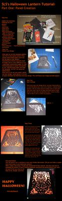 Halloween Paper Lantern Tut. by SirLadySketch