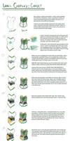 Loki cosplay guide: Corset