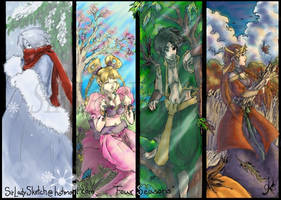 Four Seasons-Colored by SirLadySketch
