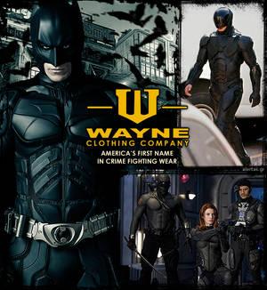 Armor up, the Wayne way!