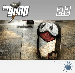 GIMP Splash: Rainy Street by klepas
