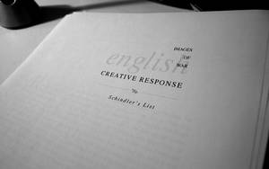 Response title typography by klepas