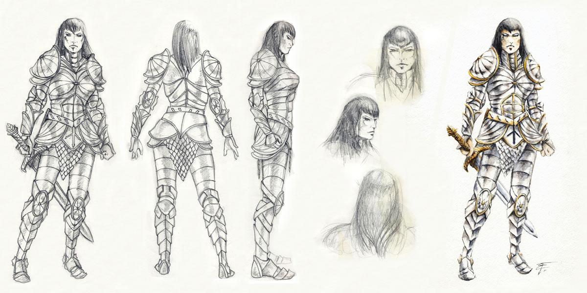 Character Design - Citadel Guard by FrancescaBaerald