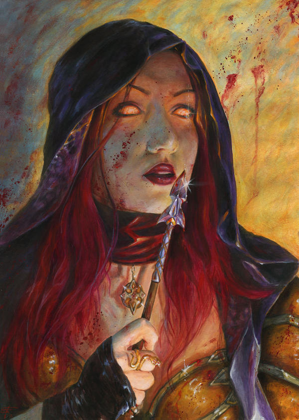 Demon Hunter by FrancescaBaerald
