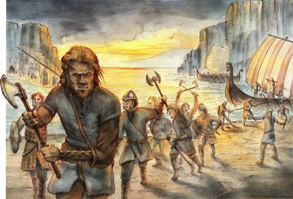 the invasion of vikings Find out more about the history of vikings, including videos harold's army was able to defeat an invasion led by the last great viking king–harald hardrada.