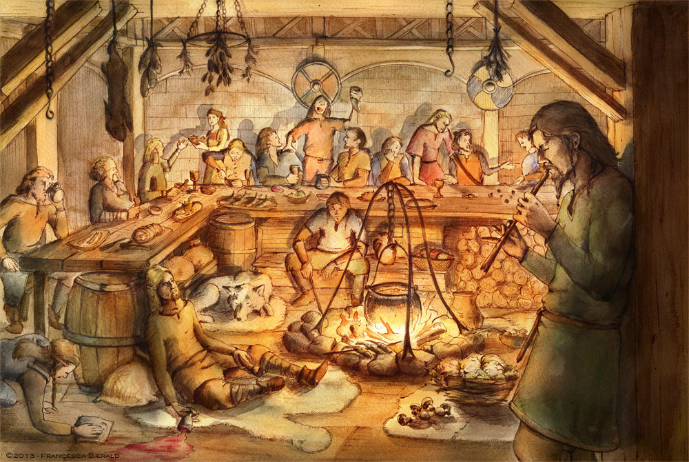 Feast - Vikings Book by FrancescaBaerald on DeviantArt