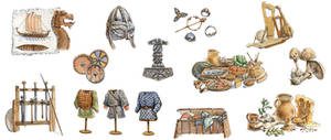 Viking Illustrations