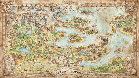 That Which Sleeps - Game Map by FrancescaBaerald