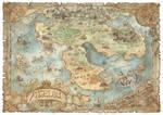 Angelou - Fantasy Map