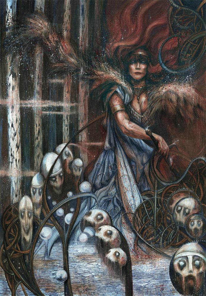 The Hirkanyan Maiden by FrancescaBaerald