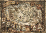 Age of Gold Fantasy Map