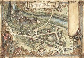 Orvasky Podzamok Map by FrancescaBaerald