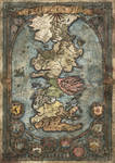 Westeros Map - Game of Thrones by FrancescaBaerald