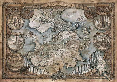 Game of Thrones - Westeros - The North
