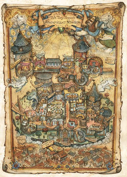 Tick Tary Tanner's Magnificent Mansion Map