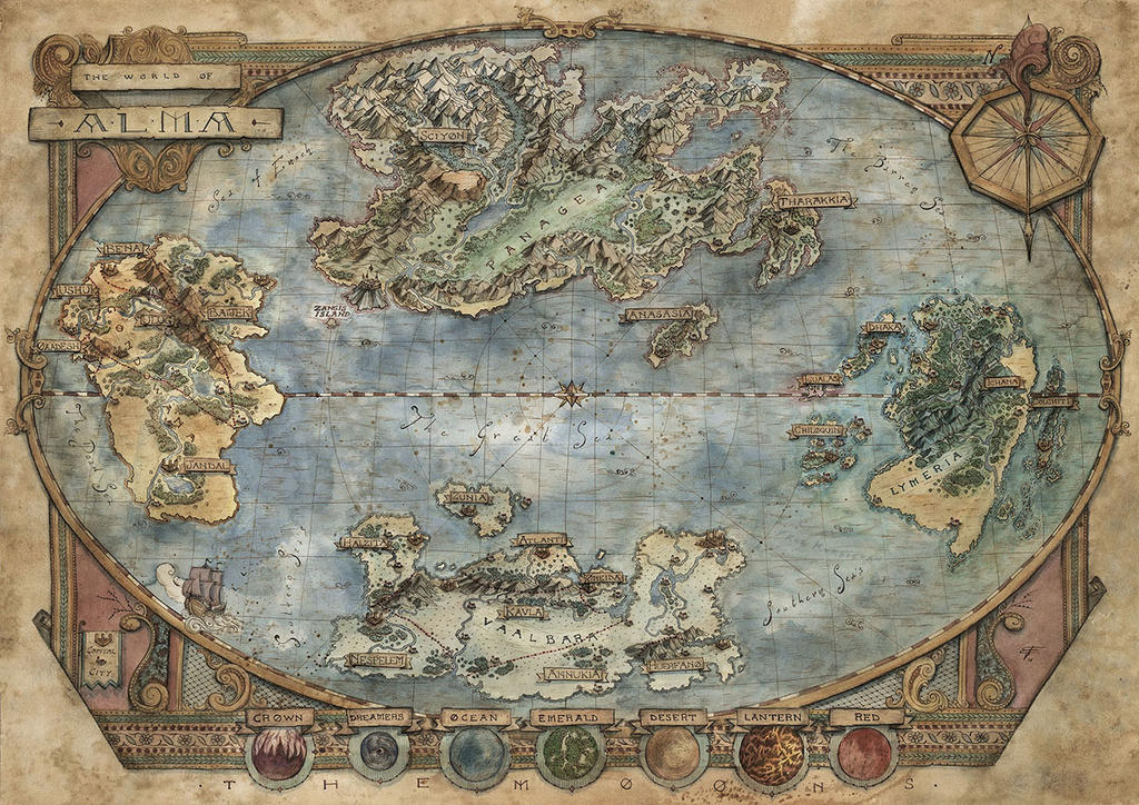 The World of Alma by FrancescaBaerald