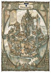 Drakkron Village - Trudvang Chronicles by FrancescaBaerald
