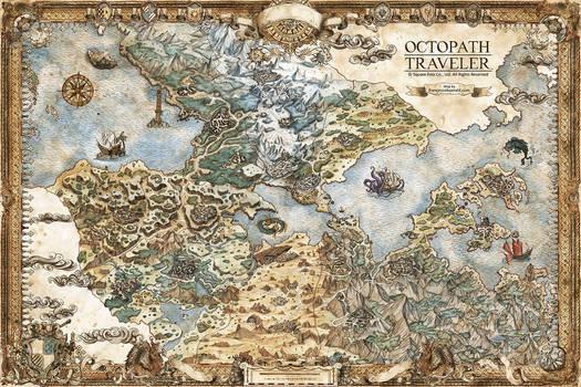 Octopath Traveler Map