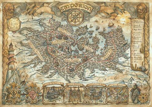 Emporion City Map