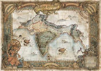 Hope and Glory RPG Map by FrancescaBaerald