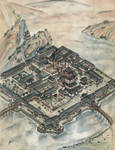 Temple of Virtuous Thunders Map - L5R