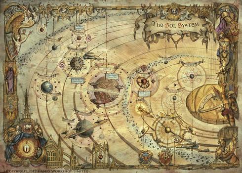 The Sol System - Warhammer Horus Heresy
