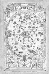 Map of Cernekan
