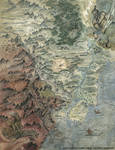L5R RPG Shadowlands Map