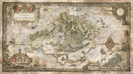 GreedFall Videogame World Map