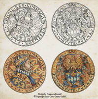 Realms Beyond videogame - Coin Design
