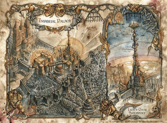 Siege of Terra - The First Wall Map - Warhammer by FrancescaBaerald