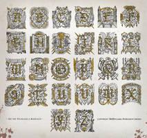 Warhammer Illuminated Letters