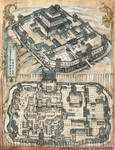 L5R RPG Closed Shell Castle Map