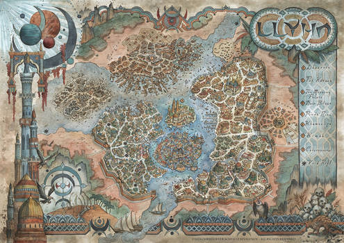 Map of Llyhn