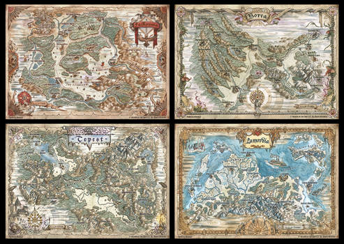 DnD Van Richten's Guide to Ravenloft Maps