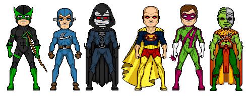 Amalgam Crime Syndicate by Comicboy02